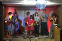 Konzert mit Swingistan, Engels, Juli 2015.